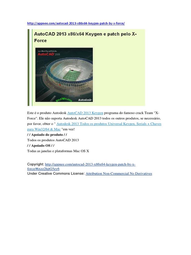 serial para activar autocad 2013 64 bits