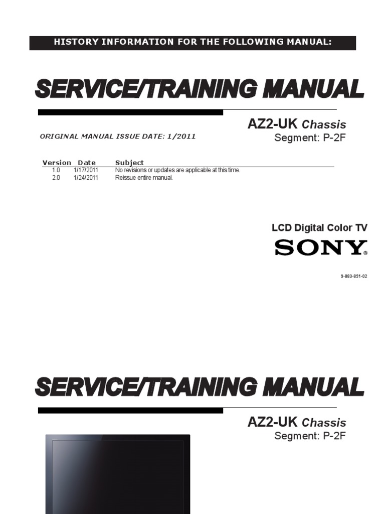 Sony Kdl 32bx320 32bx321 32bx420 32bx421 40bx421 46bx420 46bx421 Led Tv Schematic Tcon Board Or 46bx421az2 Uk Chassis Hdmi High Definition Television