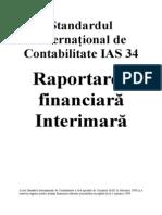 Standardul International de Contabilitate IAS 34