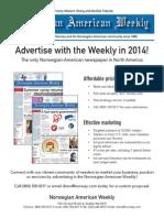 2014 Ad Rates