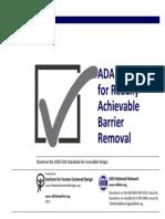 ADA - Checklist