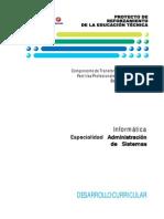 PRETEC -  Informática - Administración de Sistemas - Desarrollo Curricular.pdf