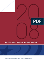 Free Press - Annual Report 2008