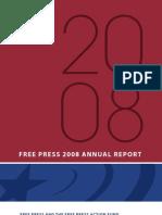Free Press - Annual Report 2008