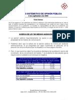 Informe Ricardo Rouvier y Asociados