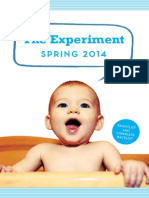 The Experiment Spring 2014 Catalog
