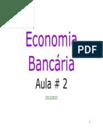 Economia bancária