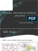 Overlay and Buffer Analysis