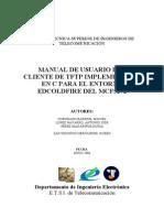 Manual Cliente TFTP