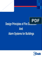 Design Principles of Fire Detection and Alarm Systems for Buildings