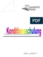 Konditionsschulung_Sammlung