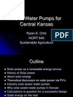 Solar Water Pumps in Kansas