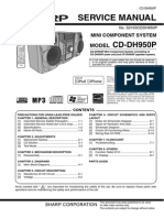 Sharp CD Dh950p
