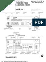 Kenwood+KRF-V6060D,V7060D,V8060D,V9060D,X9060D,VR-6050,6060,6070