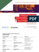 Chinatown Working Group Report - Pratt Center