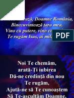 Binecuvinteaza Doamne România