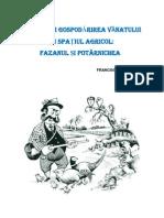 Fazanul, Ecologie si Gospodarire - Castiov