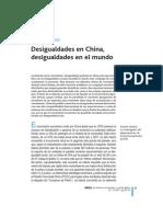 Desigualdades en China R. MOLERO