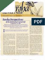 Parsha Patners Ki Tavo 2009