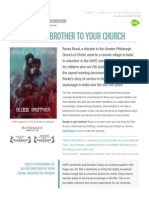 HOPE worldwide Presents Blood Brother - Host a Tugg Screening Overview Document
