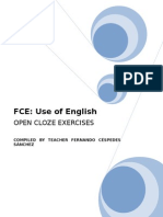 FCE Open Cloze