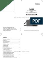 Tecsun Pl880 Manual