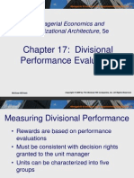 Divisional Performance Evaluation