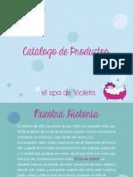 Catalogo Elspadevioleta