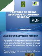 Factores de Riesgo Asociados Al Consumo de Drogas