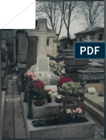 The Grave of Papus at Pere Lachaise Cemetery in Paris