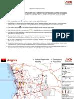 Angola Interactive Infrastructure Atlas