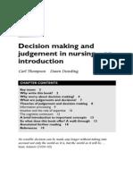 Nursing Dission Making