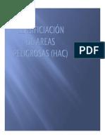 Anexo 5 Clasificación de Areas Peligrosas