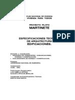 Espec Técnicas Arq MARTINETE