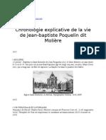 Aide à La biographie de Molière