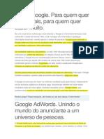 Adwords Google- Apostila