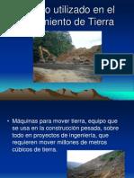 Equipo utilizado en el Movimiento de Tierra2.ppt