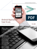 Accenture Android Application Case Study Simple App Sophisticated