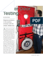 Blower Door Testing Jlc