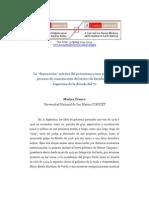 Franco Marina - La depuración interna del peronismo como parte del proceso de construcción del terror de Estado en la Argentina del 70