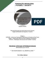 Regras Oficiais Do Futebol 7 Society - CBF7S
