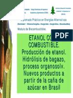 Proceso de Producción del Etanol (Modelo de Brasil)