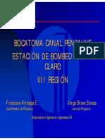 Bocatoma Canal