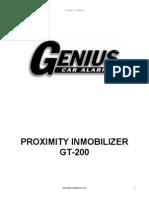 Inmobilizer Genius GT200