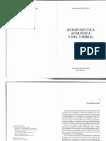 Mauricio Beuchot - Hermenéutica analógica y del umbral