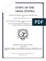 History of Dharma Śastras