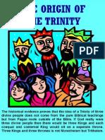 The Origin of the Trinity