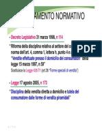 Inquadramento Legale Network Marketing