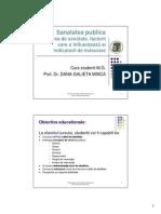 Sanatate publica si management- Starea de Sanatate