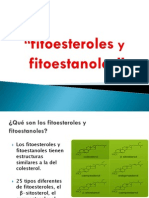 Fitoesteroles y Fitoestanoles